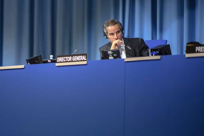Rafael Grossi, directeur-generaal van het Internationaal Atoomenergieagentschap (IAEA).