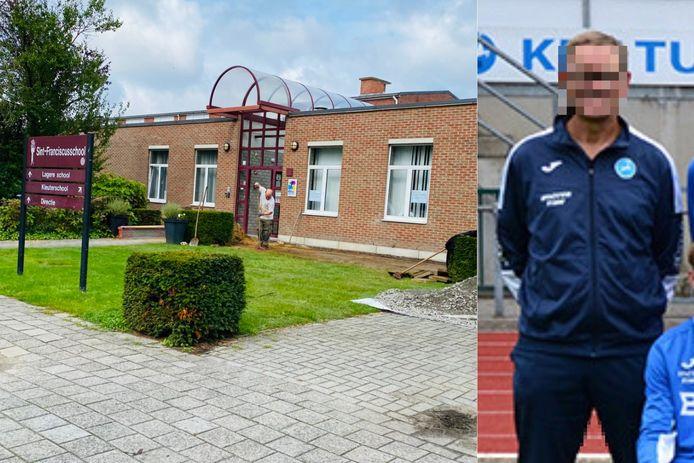 De leerkracht van Sint-Fanciscus was ook al jarenlang actief binnen het jeugdvoetbal in Turnhout