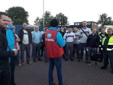 Grote staking bij Scania in Zwolle en Meppel