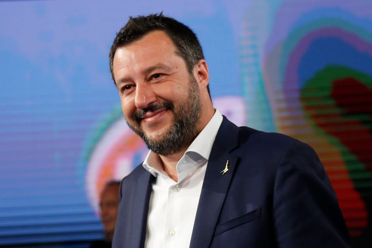 Matteo Salvini De huidige Lega-leider Matteo Salvini ontkent dat er sprake is van financiële misstanden.