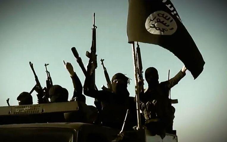 'Vele jongens voelden zich thuis zondige losers. Dan reisden ze liever naar de woestijn als heilige strijder.'  Beeld AFP