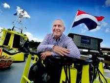 Rijkswaterstaat experimenteert op eigen schip met informatiepaneel