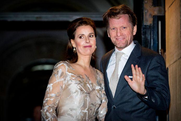 Prins Pieter-Christiaan en prinses Anita op een foto uit 2018. De prinses zou bewust worden 'doodgezwegen' door de rest van de Nederlandse koninklijke familie en uit de schijnwerpers worden gehouden.