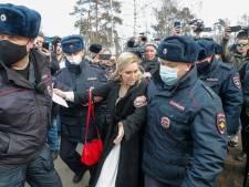 Artsencollectief gearresteerd bij demonstratie voor Navalny