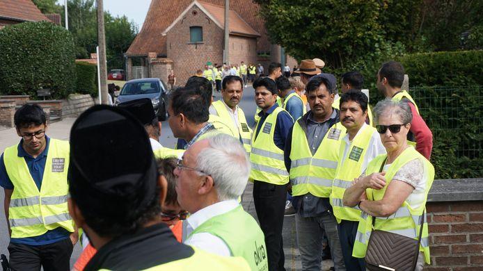 De Interreligieuze Samenwerking Dilbeek heeft afgelopen zondag een vredeswandeling georganiseerd.