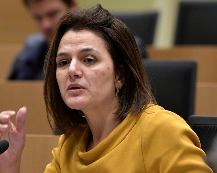 Nahima Lanjri, députée fédérale CD&V.