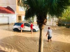 Bennekoms stel na noodweer in Spanje veilig aangekomen op vliegveld