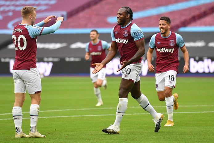 Michail Antonio maakte de 1-0 met een fantastische omhaal