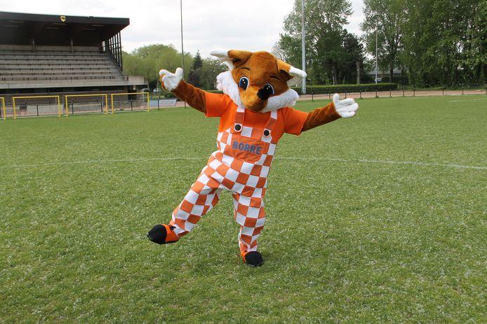 Borre, de nieuwe mascotte op recreatiedomein Ter Borcht.