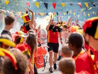 #REDCHALLENGE Puurs-Sint-Amands kleurt zwart-geel-rood voor Rode Duivels: Vlaggen en wimpels, pruiken en brillen, én Bh's