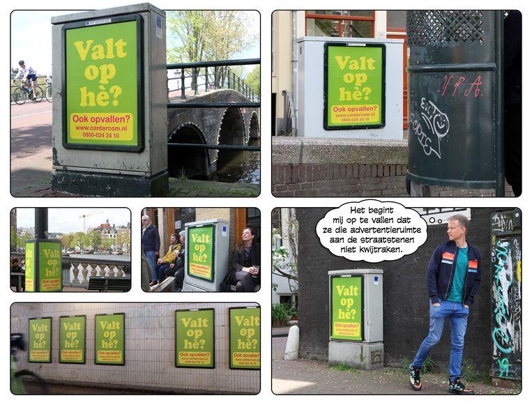 Posters, 29 mei 2021. Beeld Ype