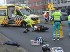 Motorrijder zwaargewond bij ongeval op Neherkade