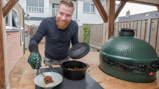 Erik Bax avonturiert erop los met de Big Green Egg