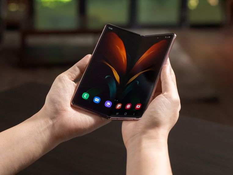 Galaxy S Fold2. Beeld Samsung