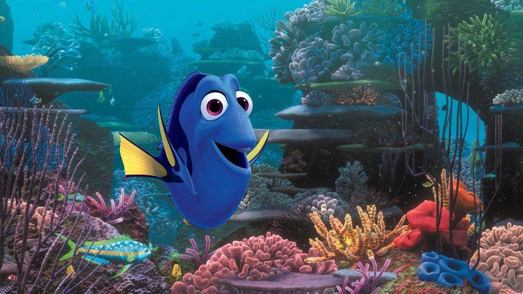 Beeld uit Finding Dory. Beeld Pixar/Disney via AP