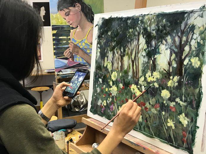 Een zomercursus tekenen en schilderen, binnenkort kan het weer bij Quintus.