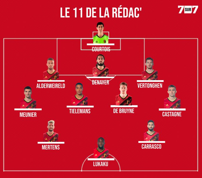 La possible compo des Diables