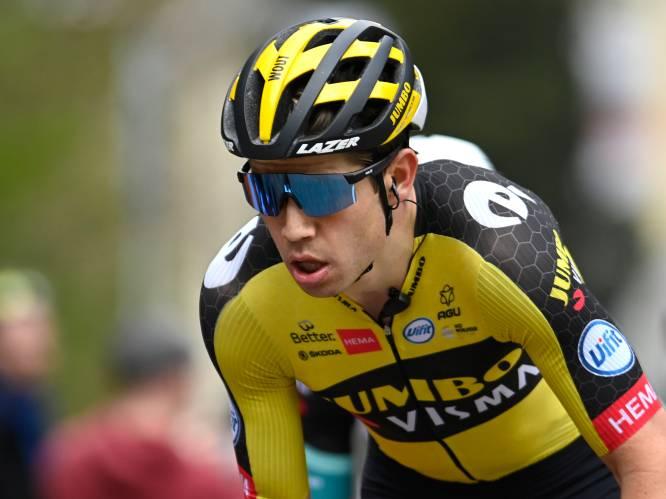 Van Aert mogelijk niet in Dauphiné na blindedarmoperatie, maar Tour en Spelen komen niet in gevaar