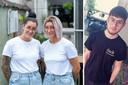 Tante Nathalie en en mama Debby Ceulemans organiseren een benefiet voor Yanni Serverius (17).