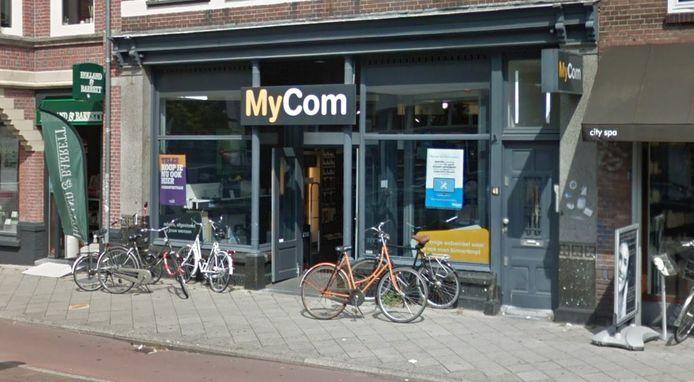 De zaak aan de Nachtegaalstraat in Utrecht.