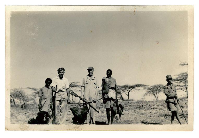 Stork-boys uit Twente bij de suikerfabrieken van Wonji en Shoa rond 1955. Beeld  Collectie Heerschap