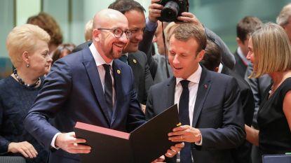 """Charles Michel: """"België geen kandidaat om migranten uit 'controlecentra' vrijwillig op te nemen"""""""
