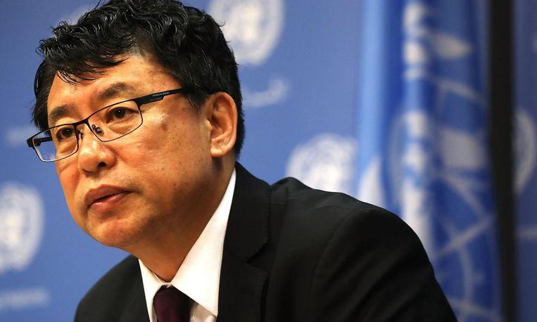 Kim In-ryong, vice-ambassadeur voor Noord-Korea bij de Verenigde Naties, stelt dat zijn land onder een