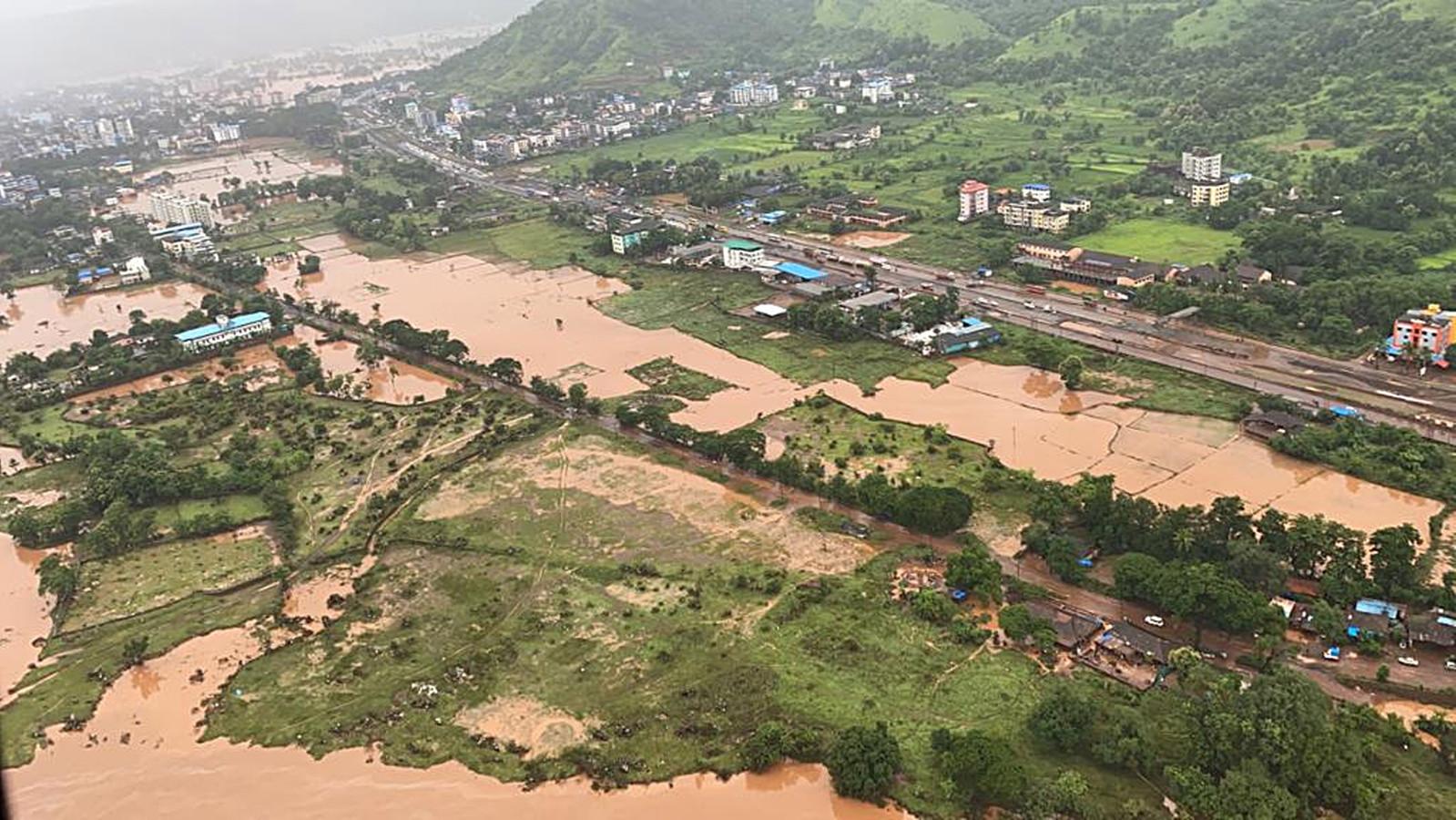 Het Raigad-district in Maharashtra.