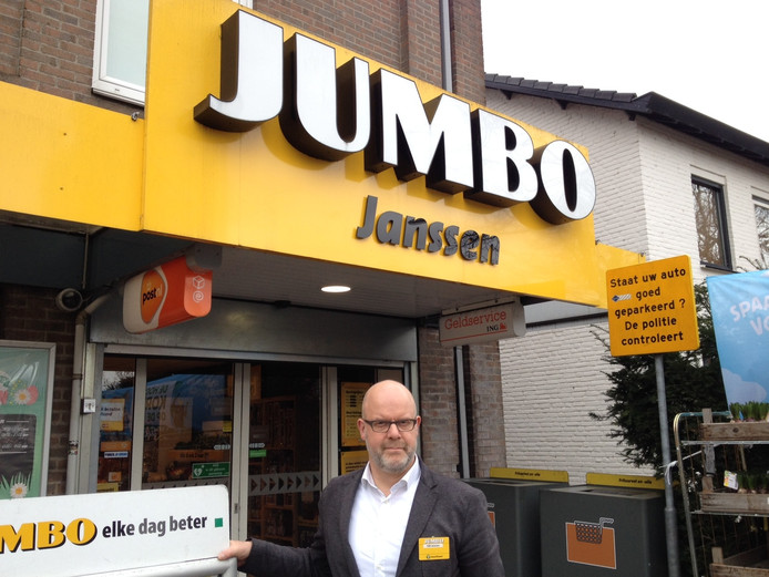 Will Janssen, eigenaar van Janssen Jumbo Den Dungen.