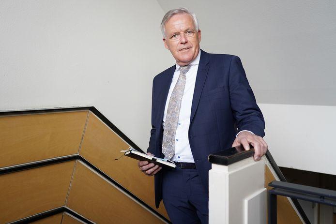 Waarnemend burgemeester van Scherpenzeel Eppie Klein.