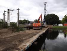 Start aanleg (snel)fietsbrug bij Vlisco in Helmond