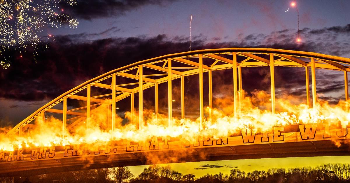 Anti-joodse kreten bij 'sfeeractie' Vitesse-fans rond duel met Ajax: politie doet onderzoek