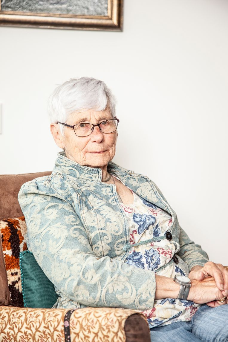 Gerda Bonnes. Beeld Ernst Coppejans