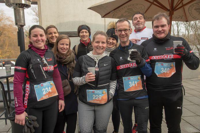 Team Aernoudt uit Destelbergen liep rondjes tijdens Sportyves in Destelbergen.