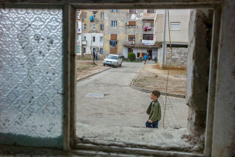 Kukës (Albanië). Beeld Nicole Segers