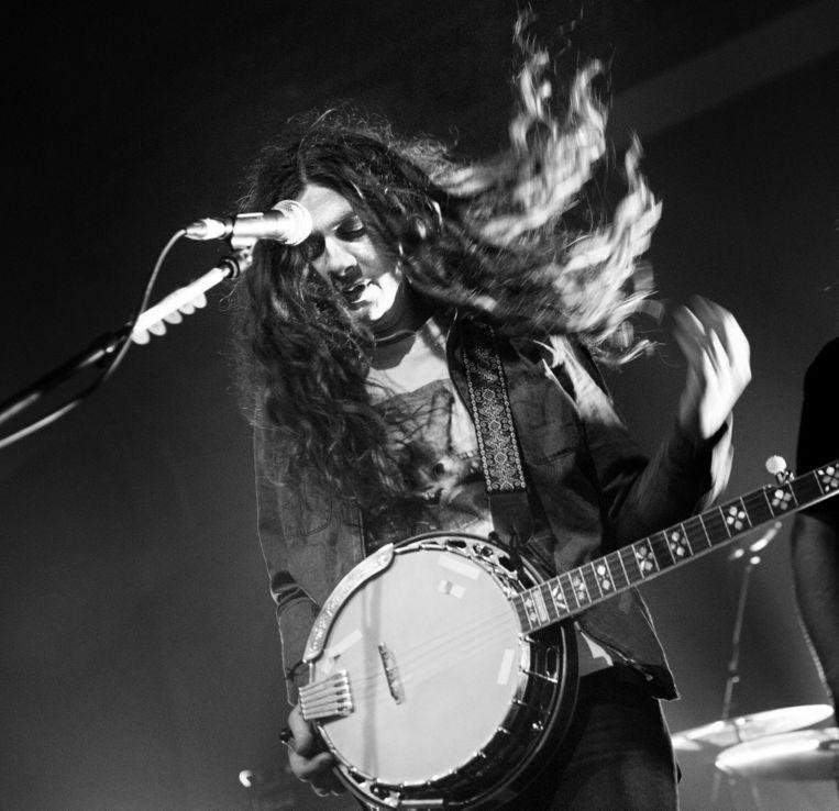 Een banjo klonk nooit zo cool. Beeld Alex Vanhee