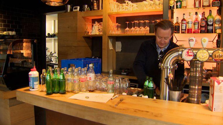 Cafébaas Tim Joiris Beeld VTM NIEUWS