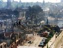 Enschede -  mei 2000 Roombeek net na de vuurwerkramp.