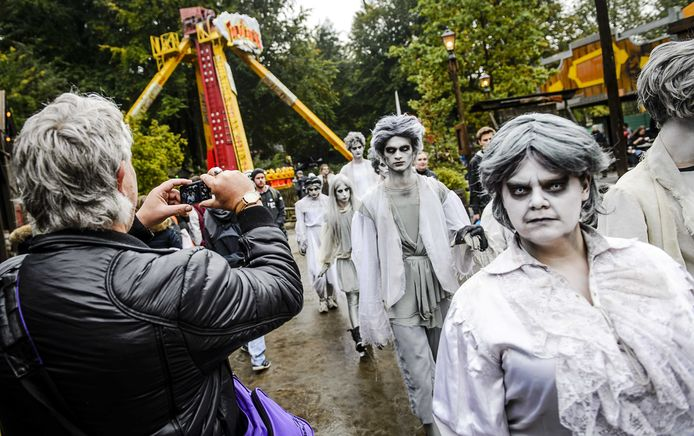 Walibi Holland tijdens één van de eerdere edities van de Halloween Fright Nights.