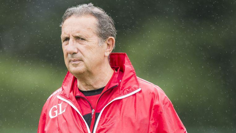 Georges Leekens: 'Mocht België de titel pakken, zal ik ook fier zijn.' Beeld Jasper Jacobs/Belga