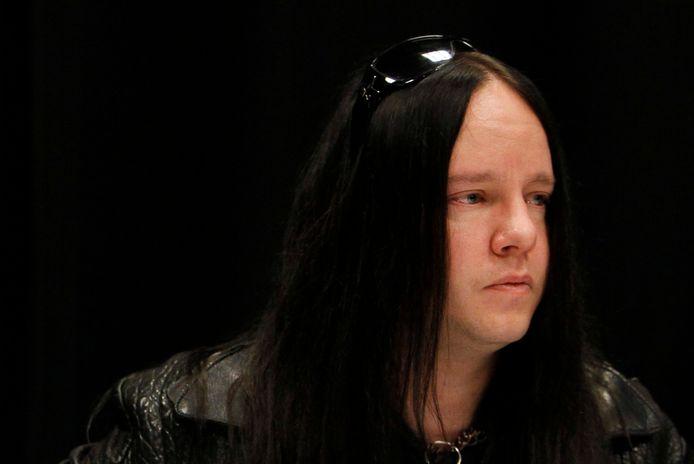 Joey Jordison, ici en 2010, est décédé paisiblement dans son sommeil.