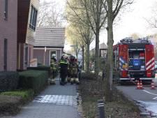 Hoogbejaarde bewoonster gewond na val tijdens woningbrand in Sint-Michielsgestel
