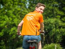 Jesse (17) uit Oldebroek fietst eigen Toer de Dellen voor onderzoek naar kinderkanker
