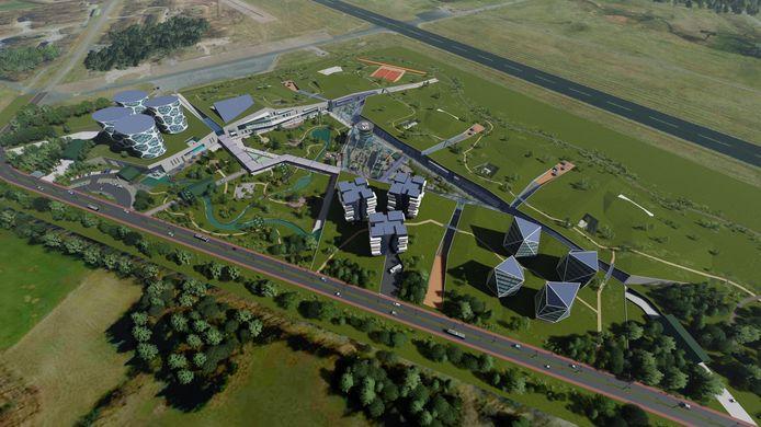 Het onderzoeksbedrijf naar batterijen en accu's Lithium Werks paste wel binnen het bestemmingsplan van Technology Base, maar kwam er niet.
