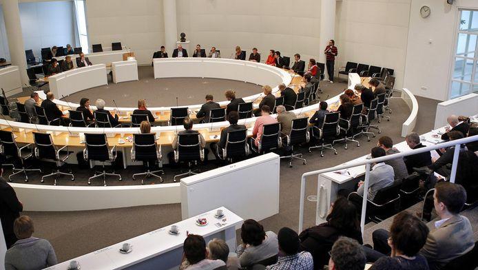 De vergadering van de Haagse gemeenteraad. © ANP