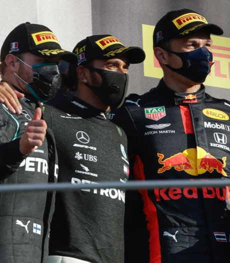 Mercedes scoort weer één-tweetje op chaotisch Mugello, eerste podium Albon