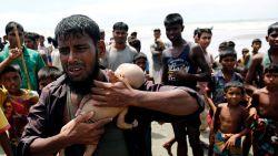 """Ongetwijfeld het schrijnendste beeld van de crisis in Myanmar: """"Help ons aub"""""""