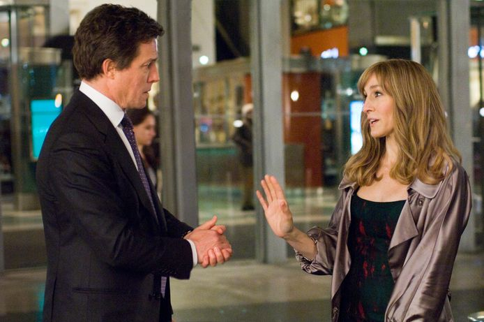 Hugh Grant en Sarah Jessica Parker waren al samen te zien in 'Did You Hear About the Morgans?'.