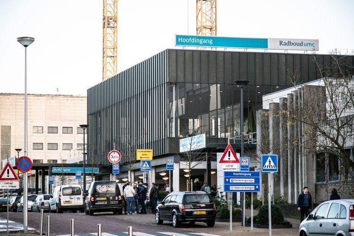 Hoofdingang Radboudumc