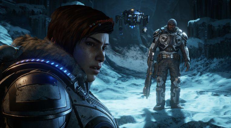 Beeld uit 'Gears 5'. Beeld Microsoft